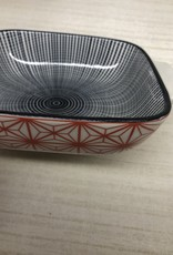 Medium Backing Dish Lava Rock