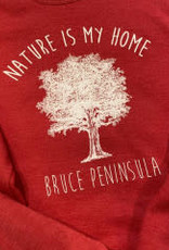 Unisex Nature is My Home Crew Neck