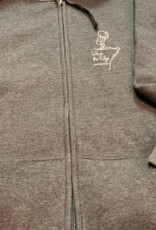 Unisex Life on The Edge Full Zip Hoody Sweatshirt