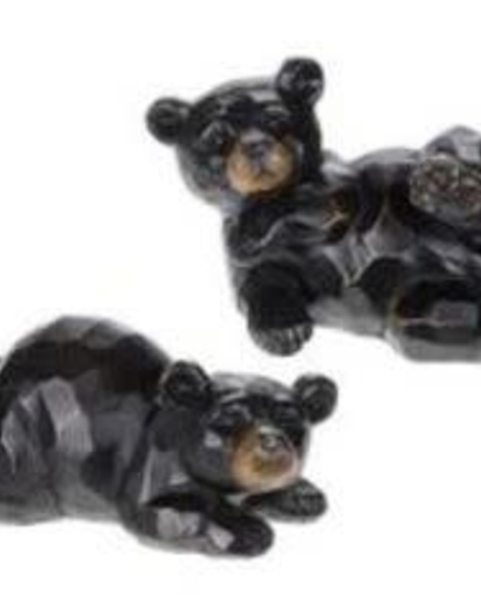 "Laying Black Bear, 6"" x 3"""