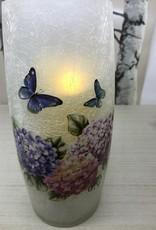 Candle Holder Hydrangea