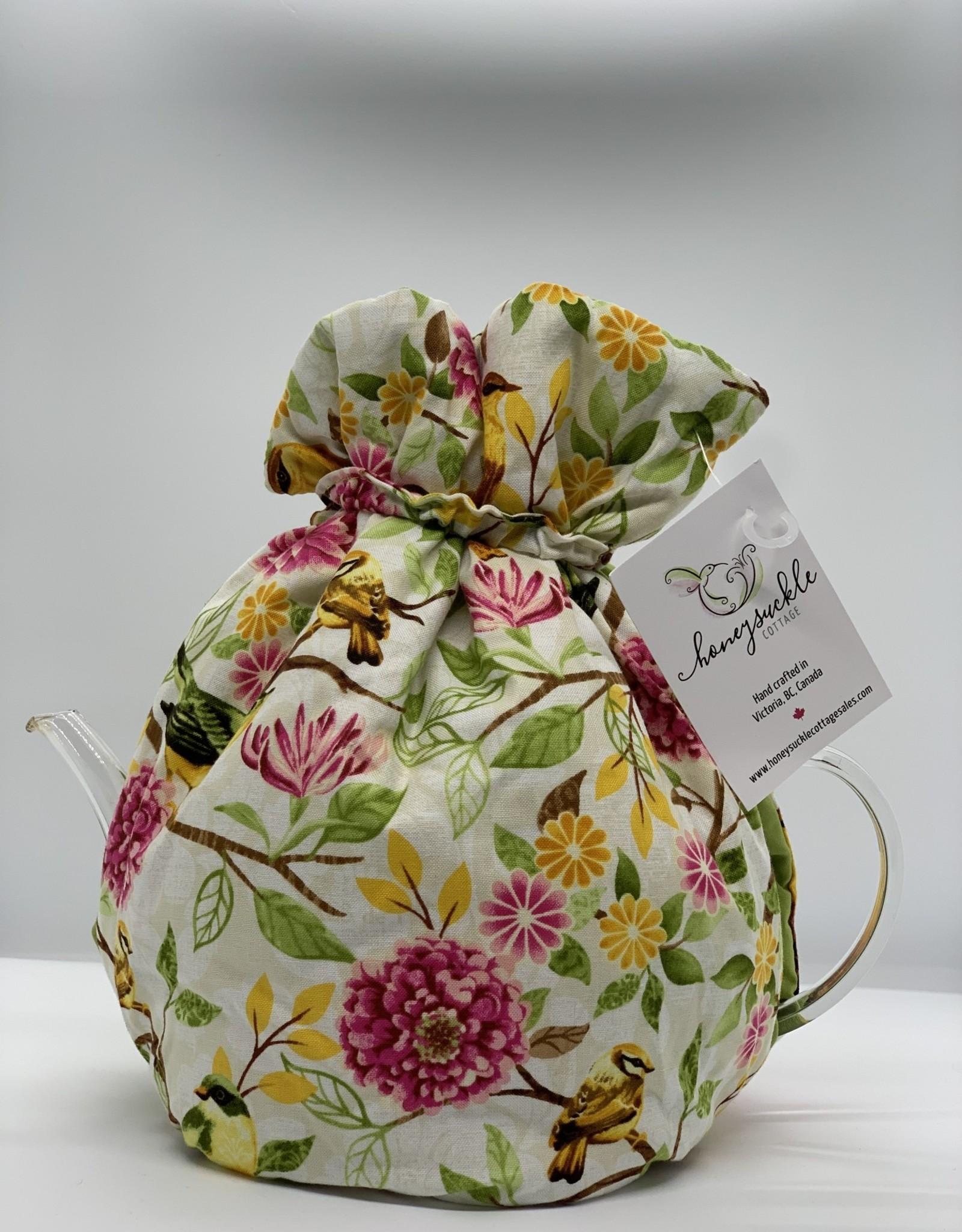 Honeysuckle Cottage Tea Cozy Wrap Medium Size