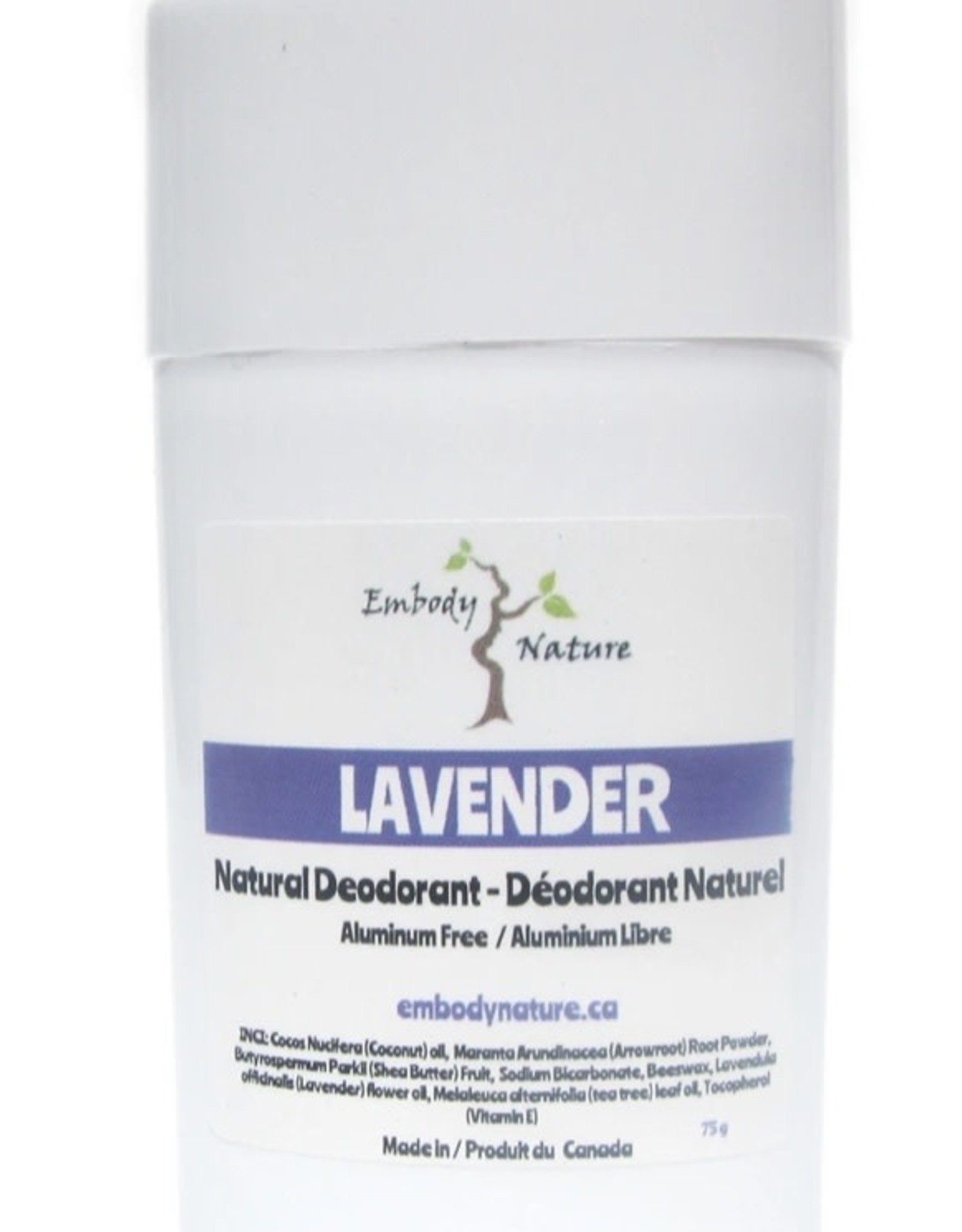 Embody Nature Natural Deodorant