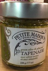 Wildly Delicious Green Olive & Almond Tapenade