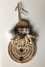 Hanging Rope Santa