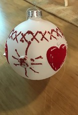 Red & White Christmas Ornament
