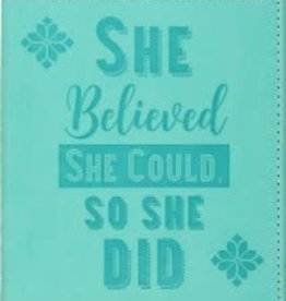 She Beilieved She Could Journal
