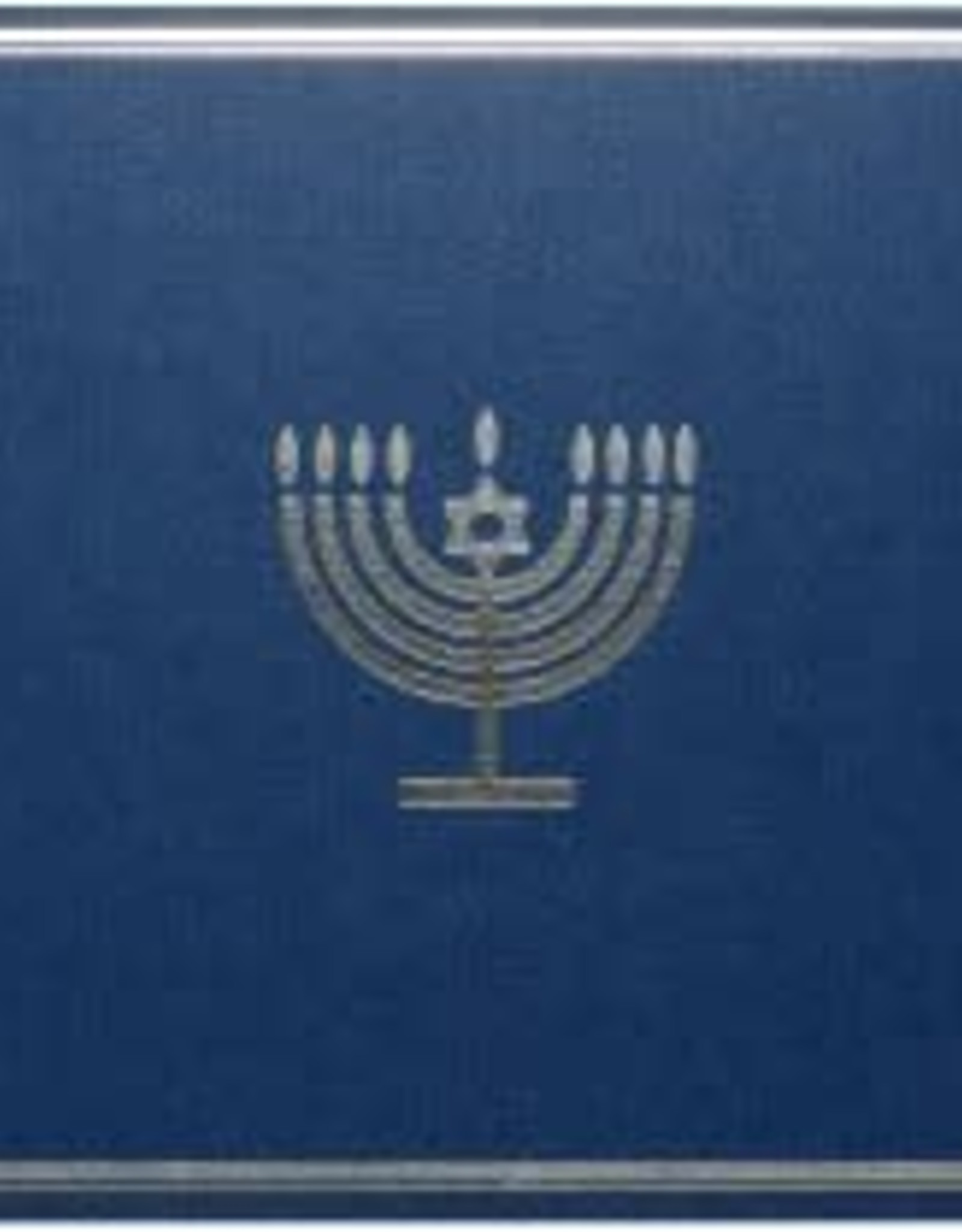 Silver Menorah Holiday Cards 20 cards