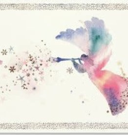 Watercolour Angel Christmas Cards 20 pack