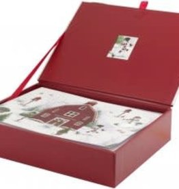 Country Winter Deluxe Box Christmas Cards 20