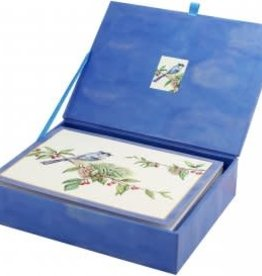 Feathered Greetings Deluxe Box Christmas Cards