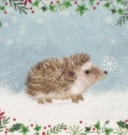 Happy Hedgehog Small Christmas Cards 20