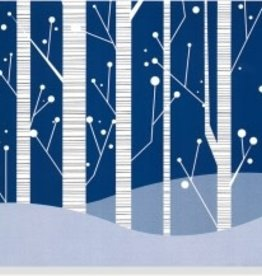 White Birches Deluxe Box Christmas Cards 20