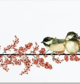 Winterberry With Chickadee Deluxe Box Christmas Cards 20
