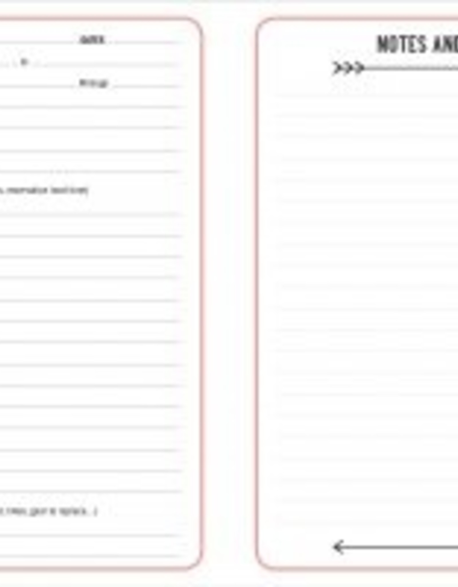 The Camping Log Book