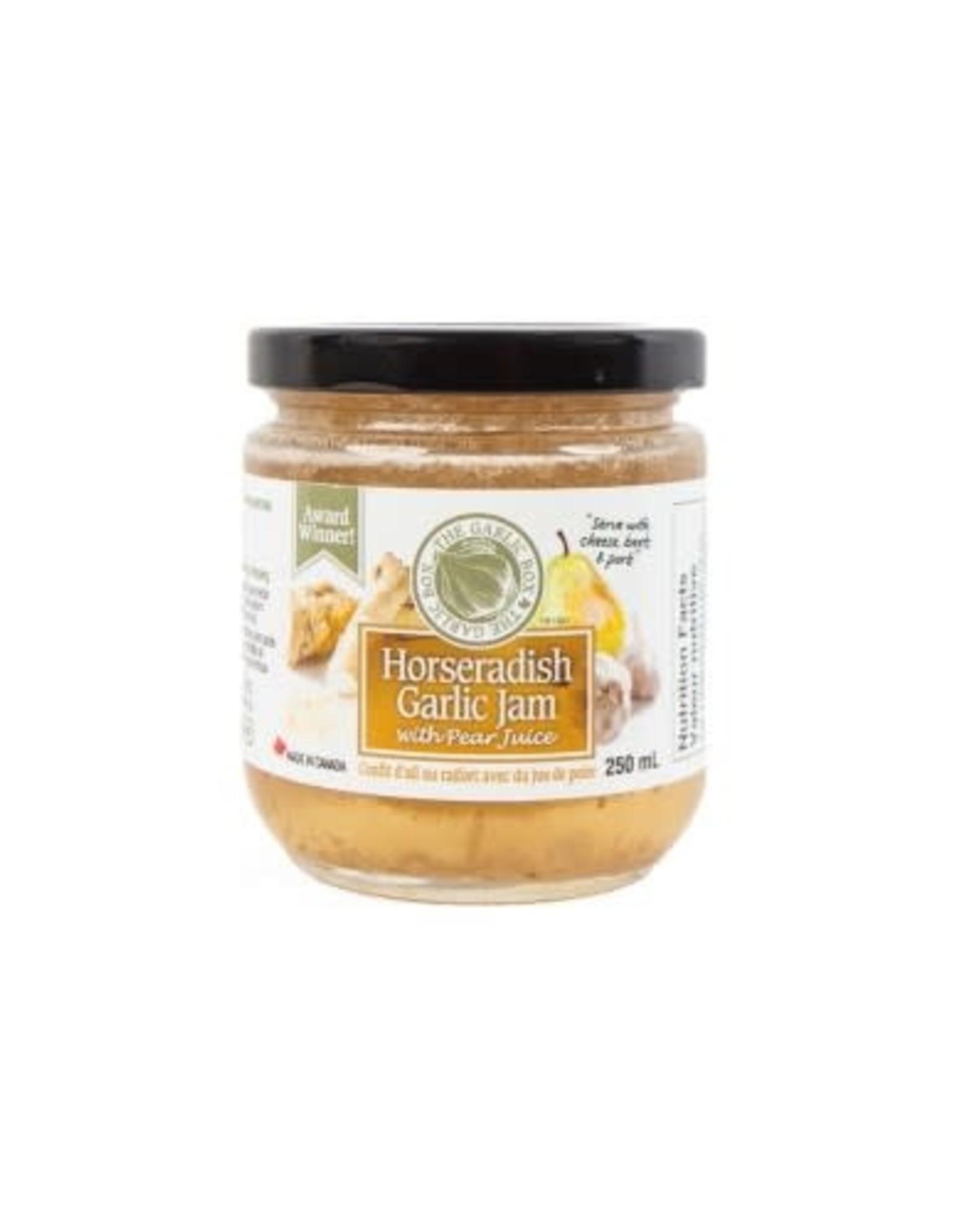 The Garlic Box Horseradish Garlic Jam