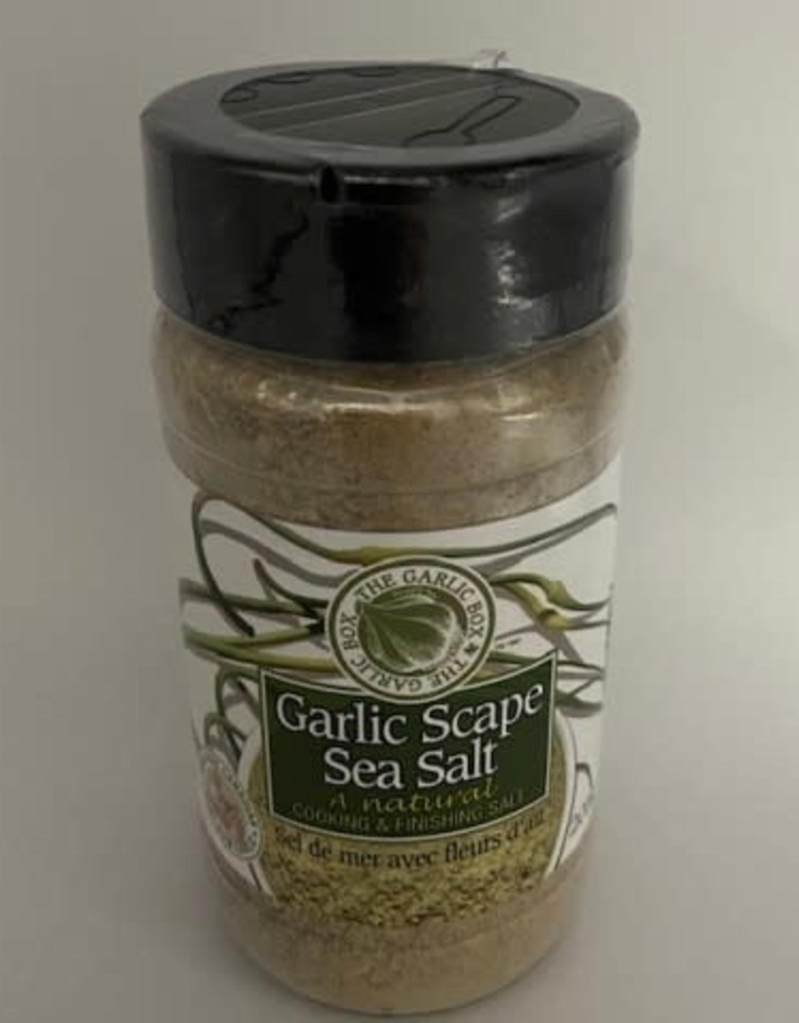 The Garlic Box Garlic Scape Sea Salt