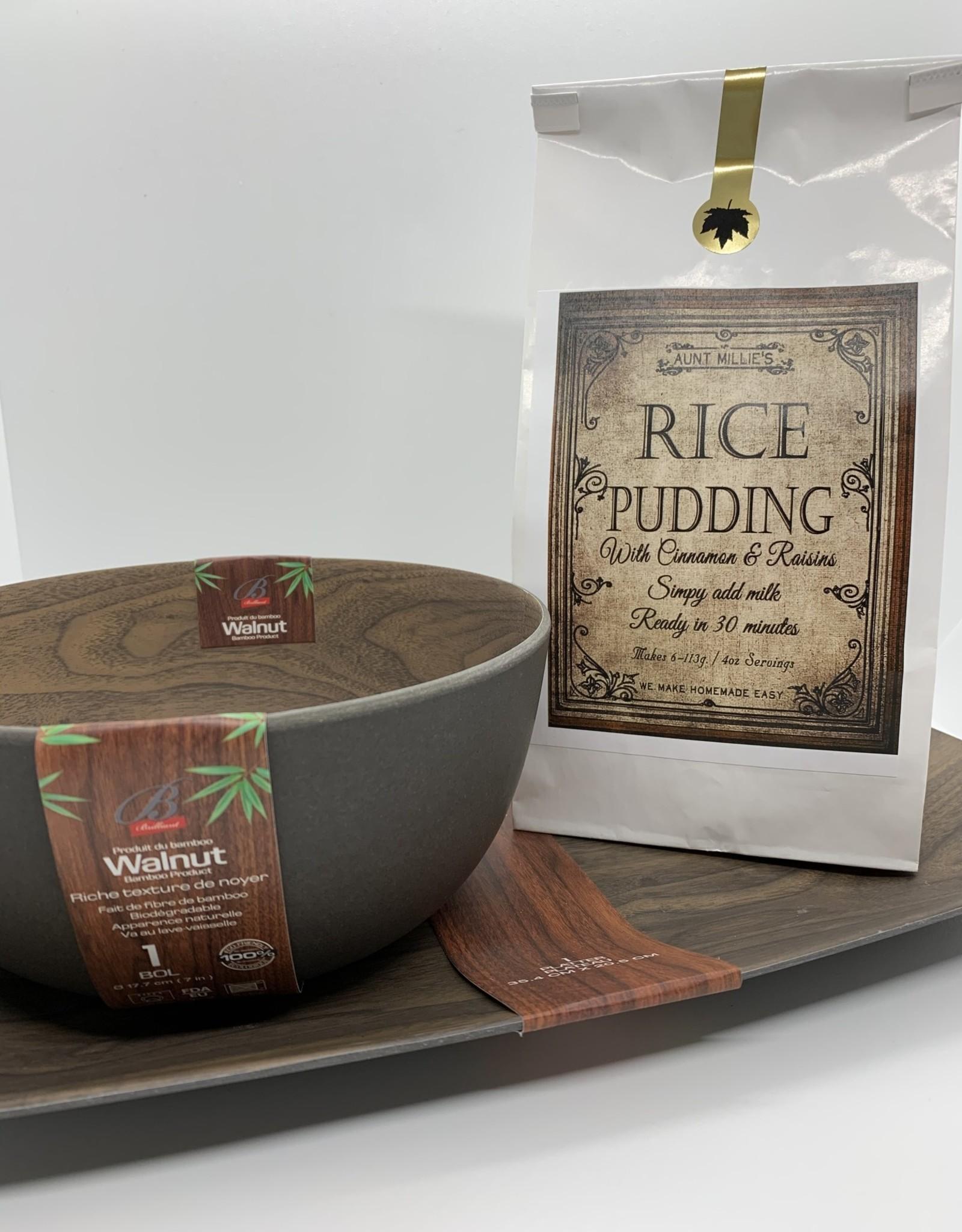 Aunt Millies Kitchen Rice Pudding
