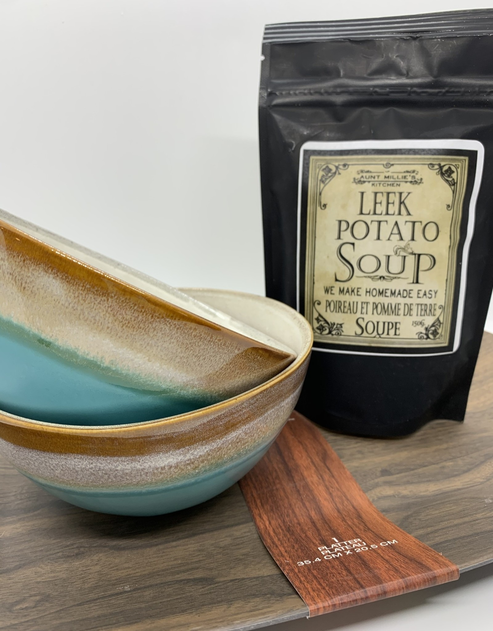 Aunt Millies Kitchen Leek & Potato Soup 6 cup (Wheat Free)