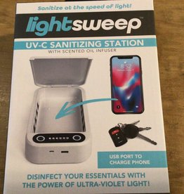Lightsweep UV sterilizing station