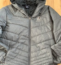 Landway Bruce Peninsula Grey Puff Jacket Men's Fit