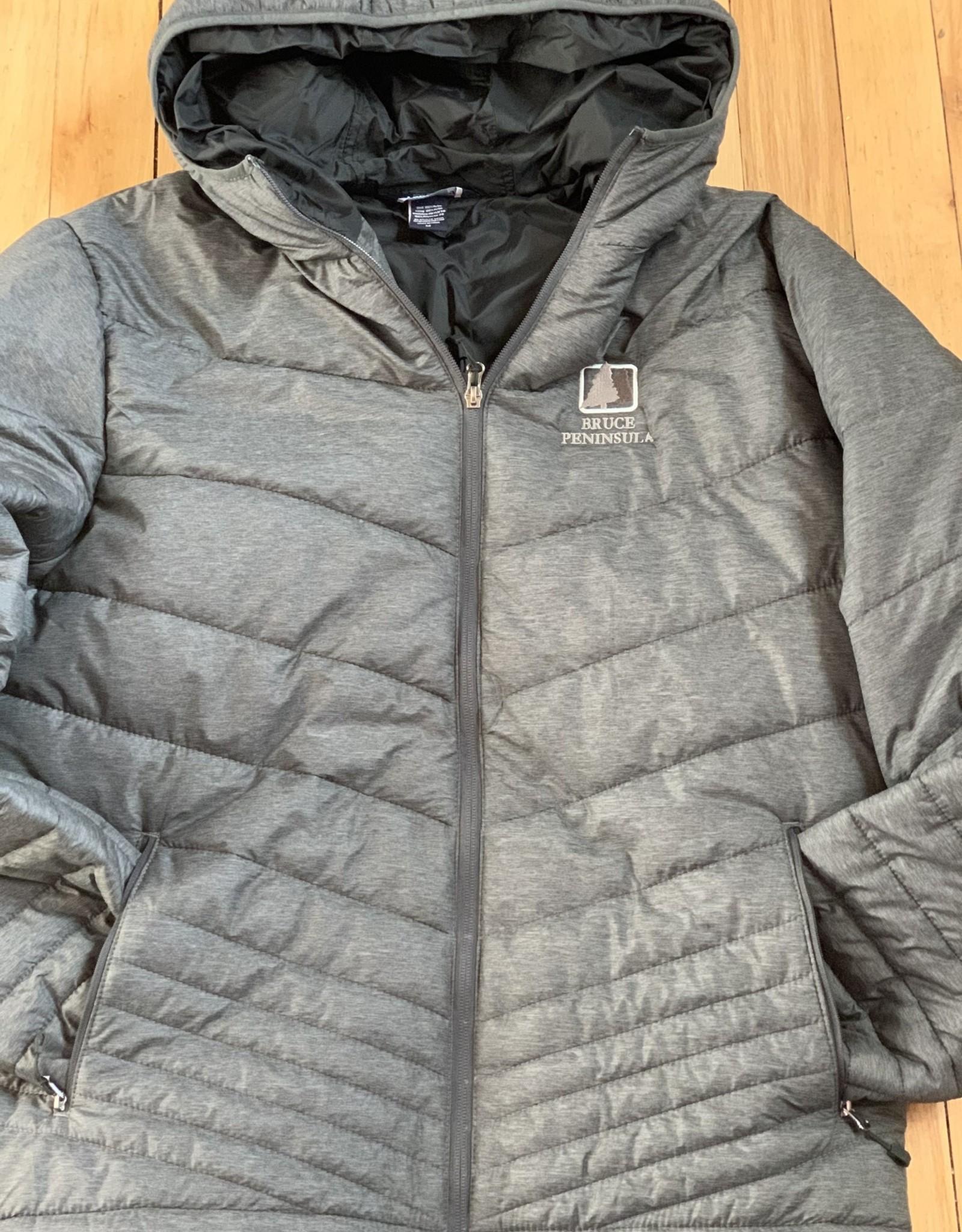 Landway Bruce Peninsula Grey Puff Jacket Men's Fit