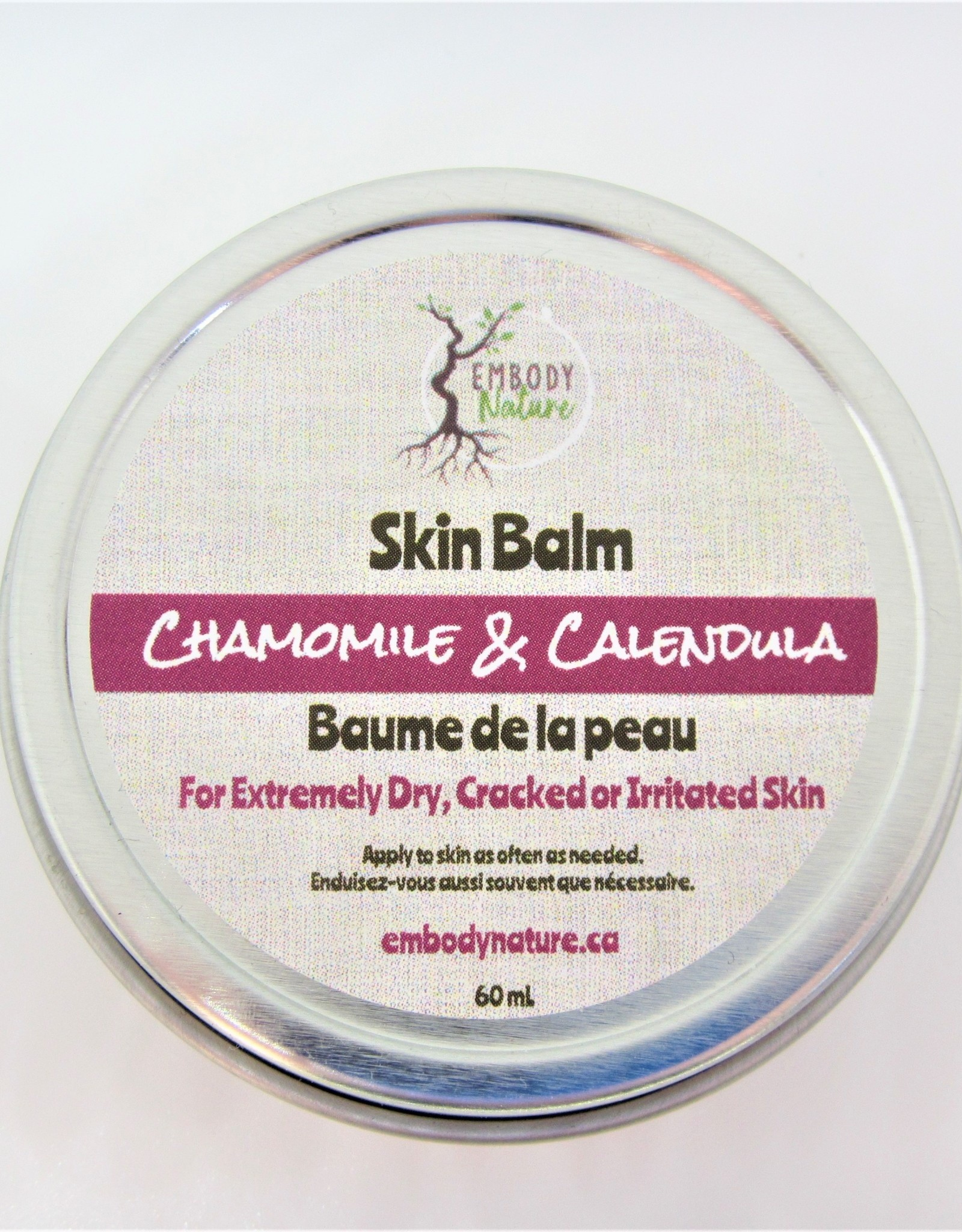Embody Nature Chamomile & Calendula Skin Balm
