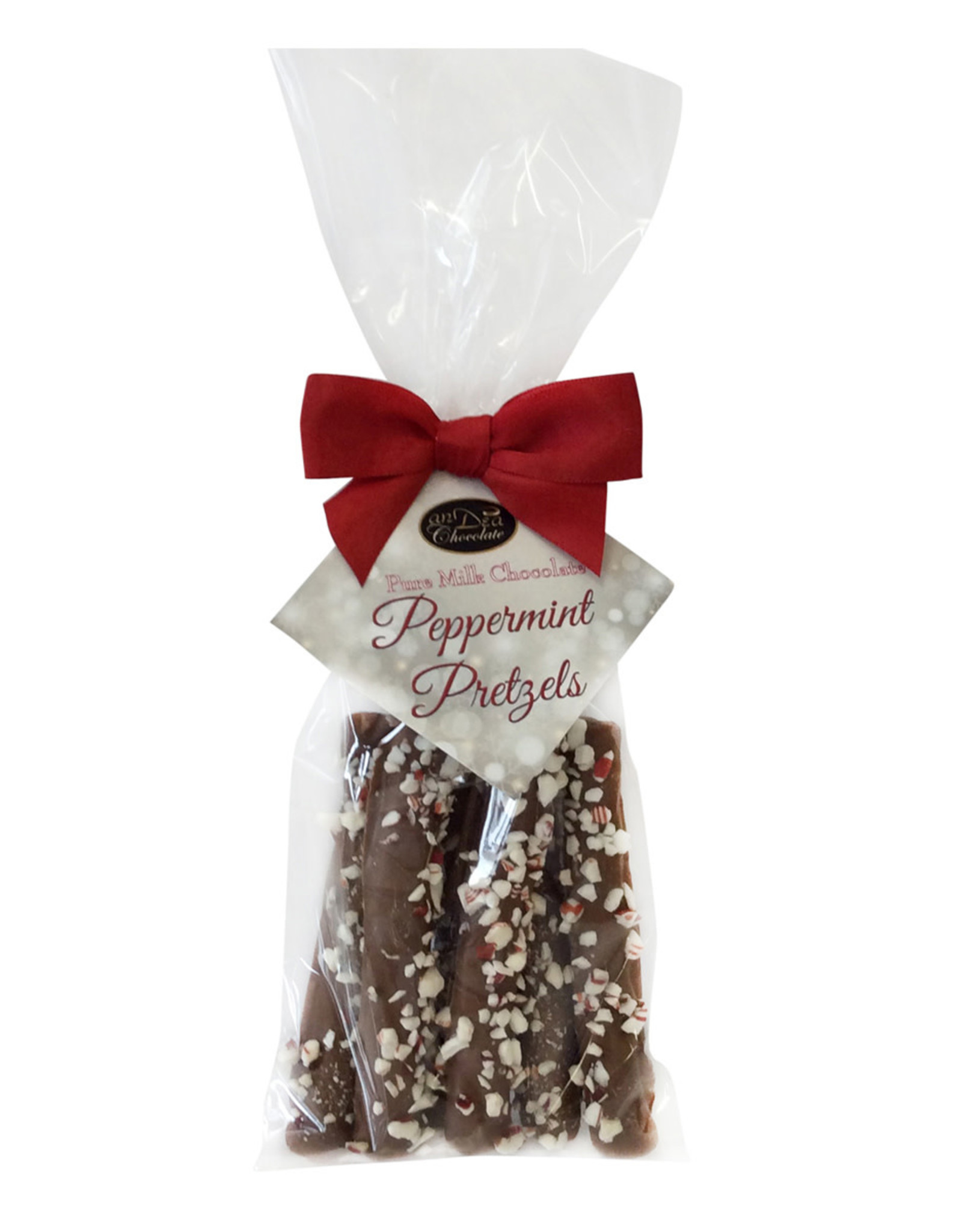 Andea Chocolate Chocolate Peppermint Pretzel Sticks 6 pcs