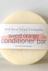 Old Soul Soap Company Sweet Orange Conditioner Bar