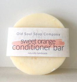 Old Soul Soap Company Sweet Orange Conditioner Bar