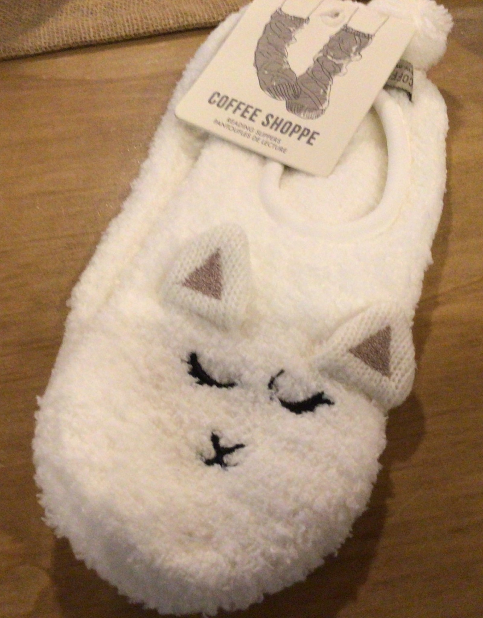 coffee shoppe Animal Footlet Slipper