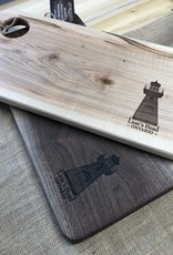 Gerry's Woodworking Lions Head Lighthouse Charcuterie Board