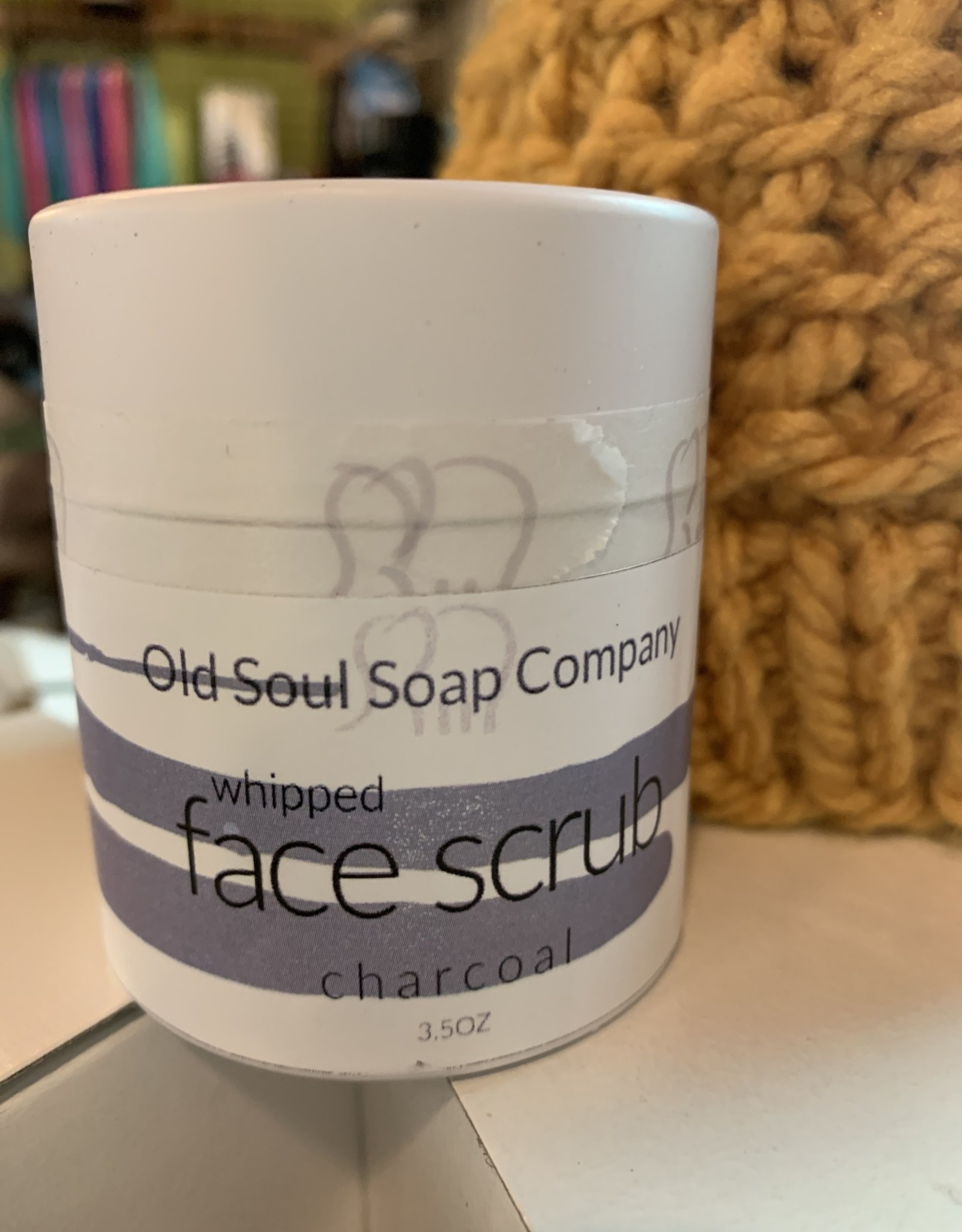 Old Soul Soap Company Charcoal Face Scrub