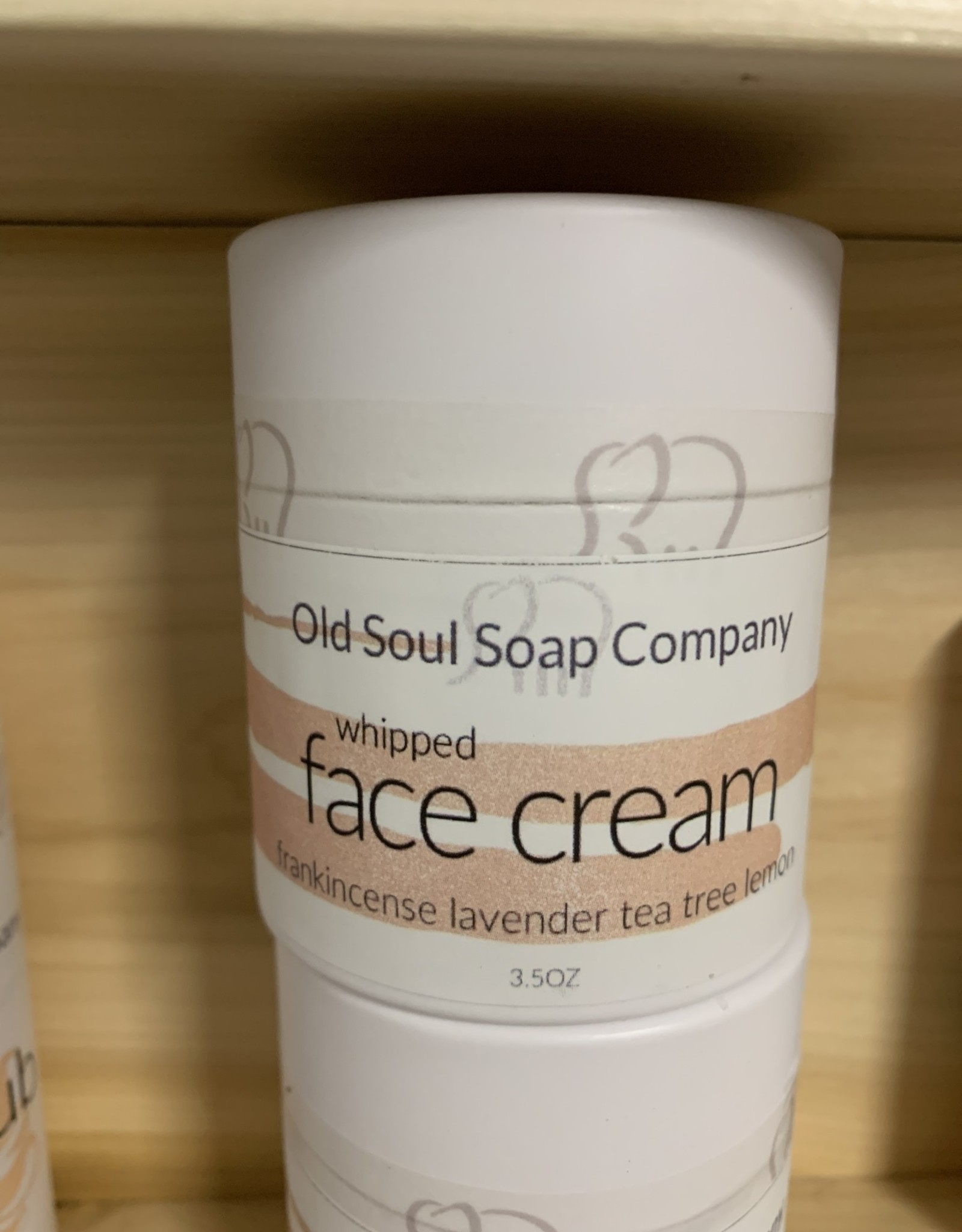 Old Soul Soap Company Whipped Face Cream