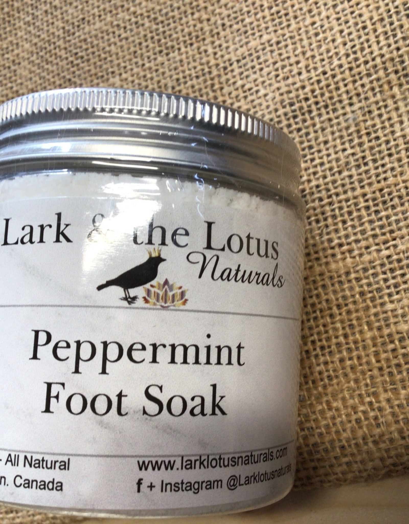 Lark & Lotus Peppermint Foot Soak