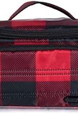 Lug Mini Trolley Plaid  Cosmetic Case