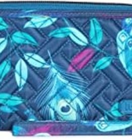 Lug Handspring Peacock Travel Wallet