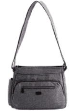 Lug Shimmy 2 Heather Grey Purse