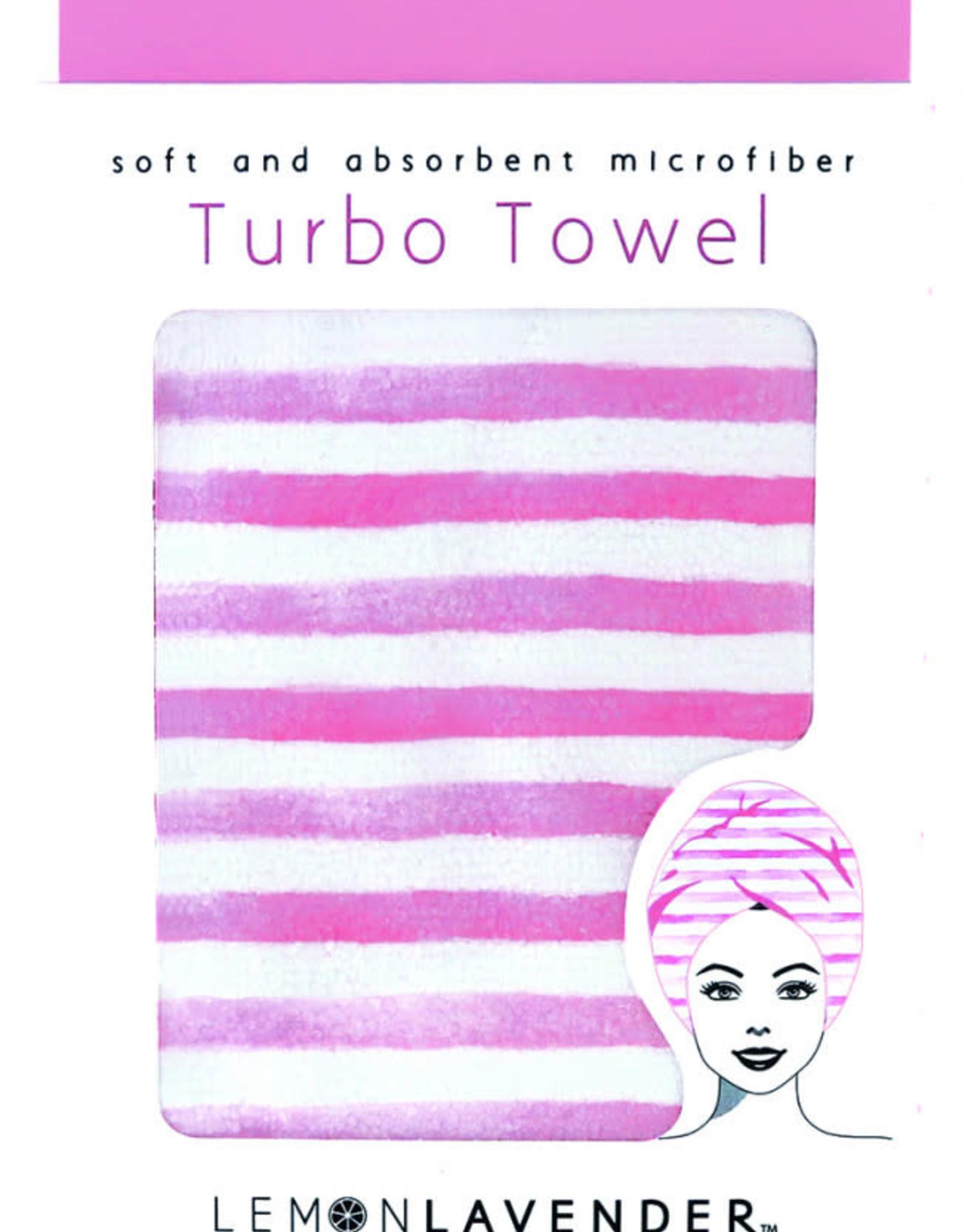 Lemon Lavender Turbo Towel