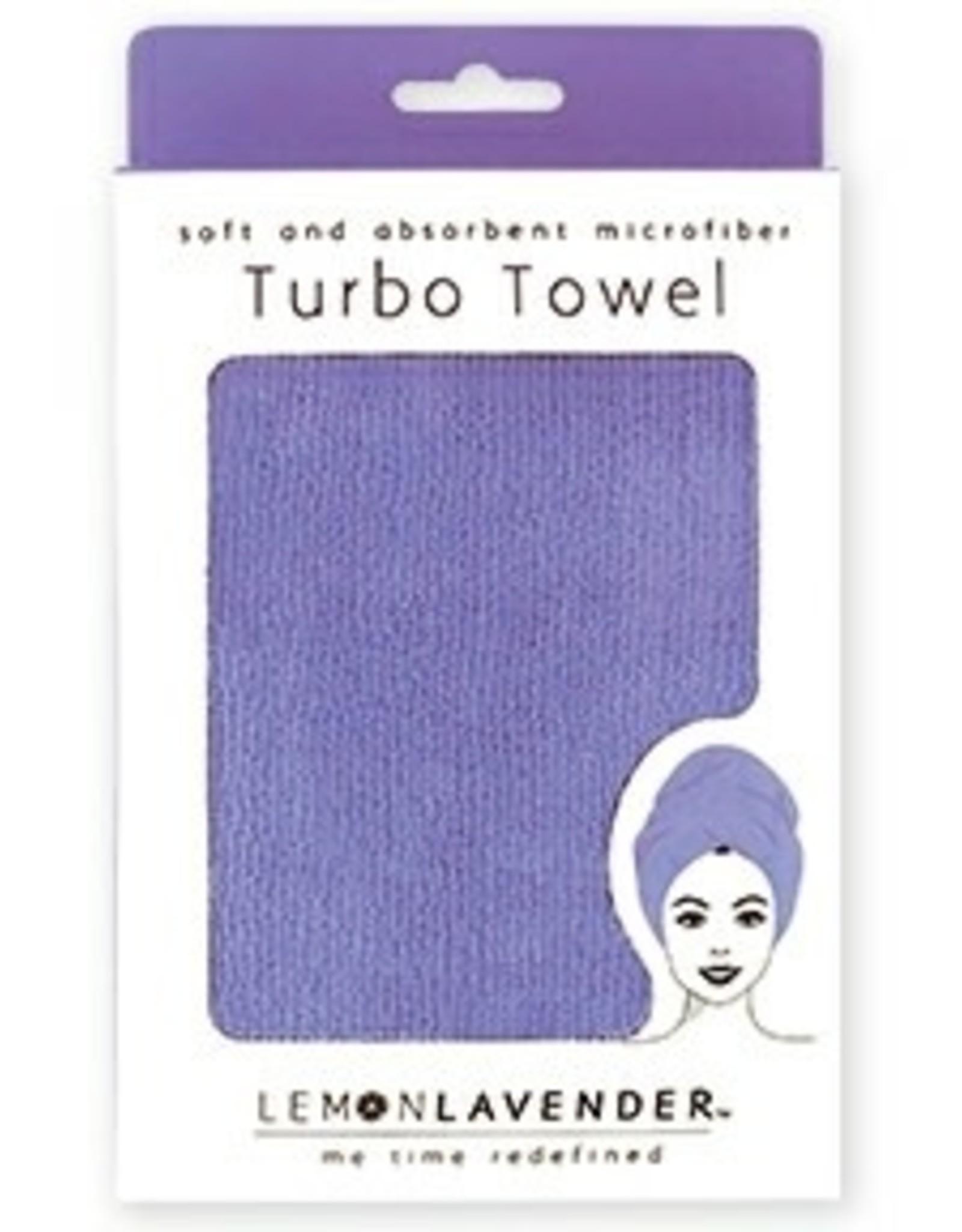 Lemon Lavender Turban Towel