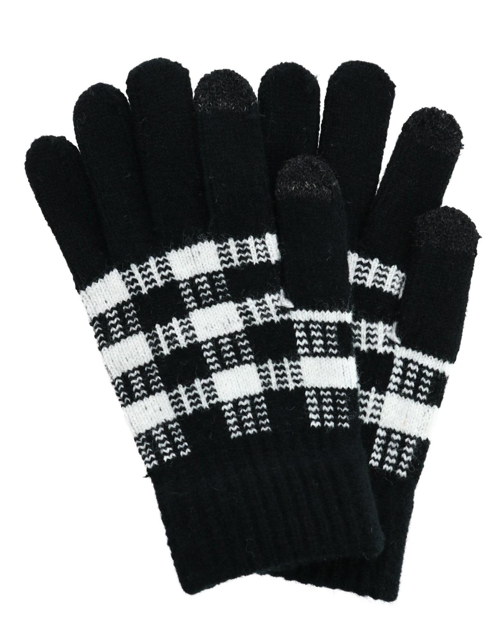 Britts Knits Buffalo Print Gloves