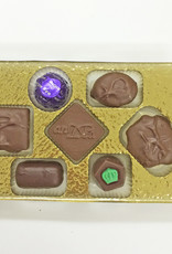 Andea Chocolate No Sugar Added Assorted Chocolates - 7pc Gold Gift Box