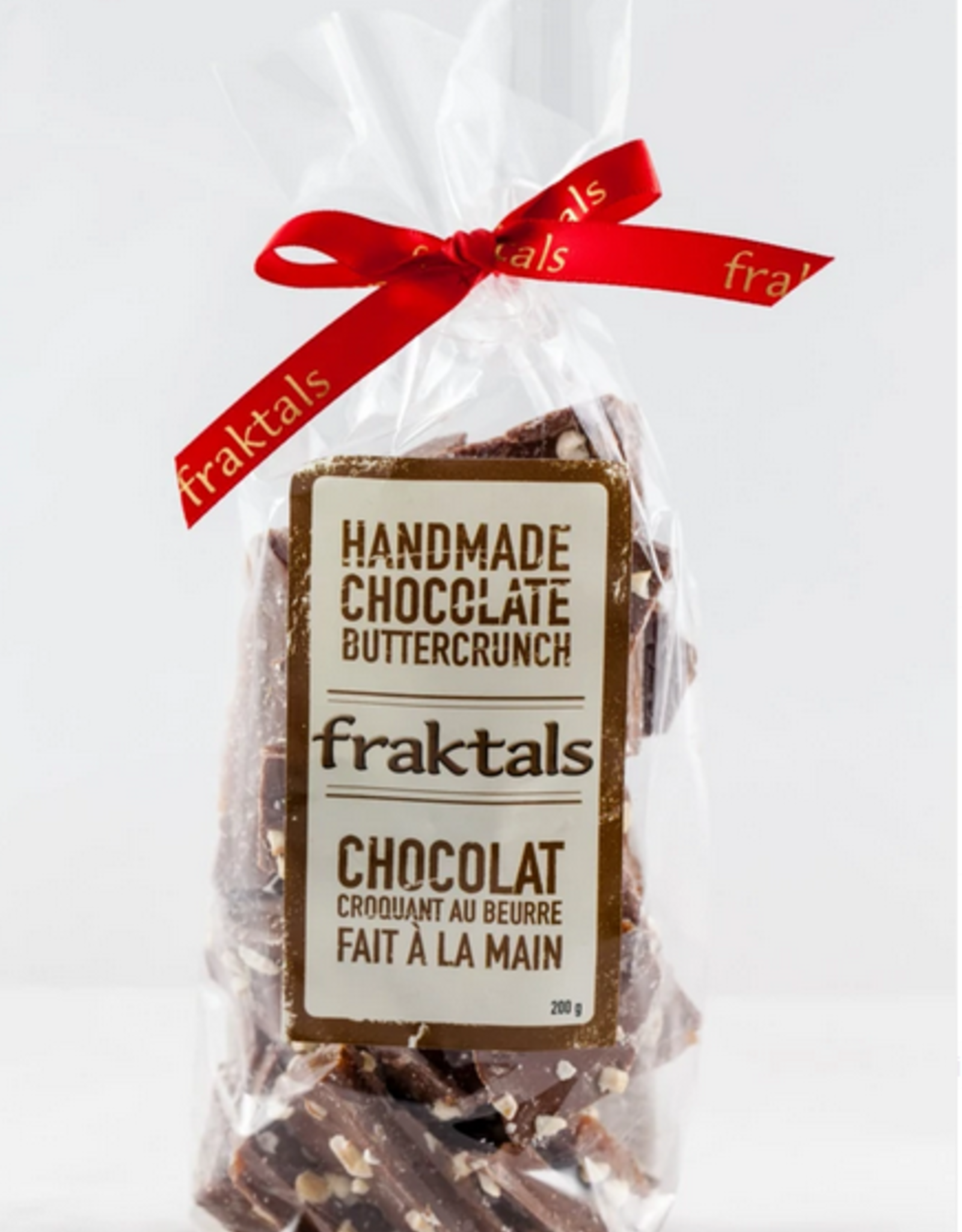 Fraktals Belgian Milk Chocolate Buttercrunch 200 Gram