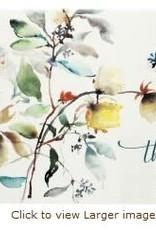 Asian Botanical Thank You Notes