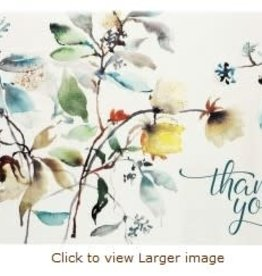 Asian Botanical Thank You Notes
