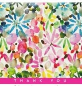 Watercolor Gardens Thank You Notes