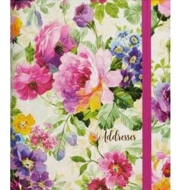 Peony Garden Large Address Book