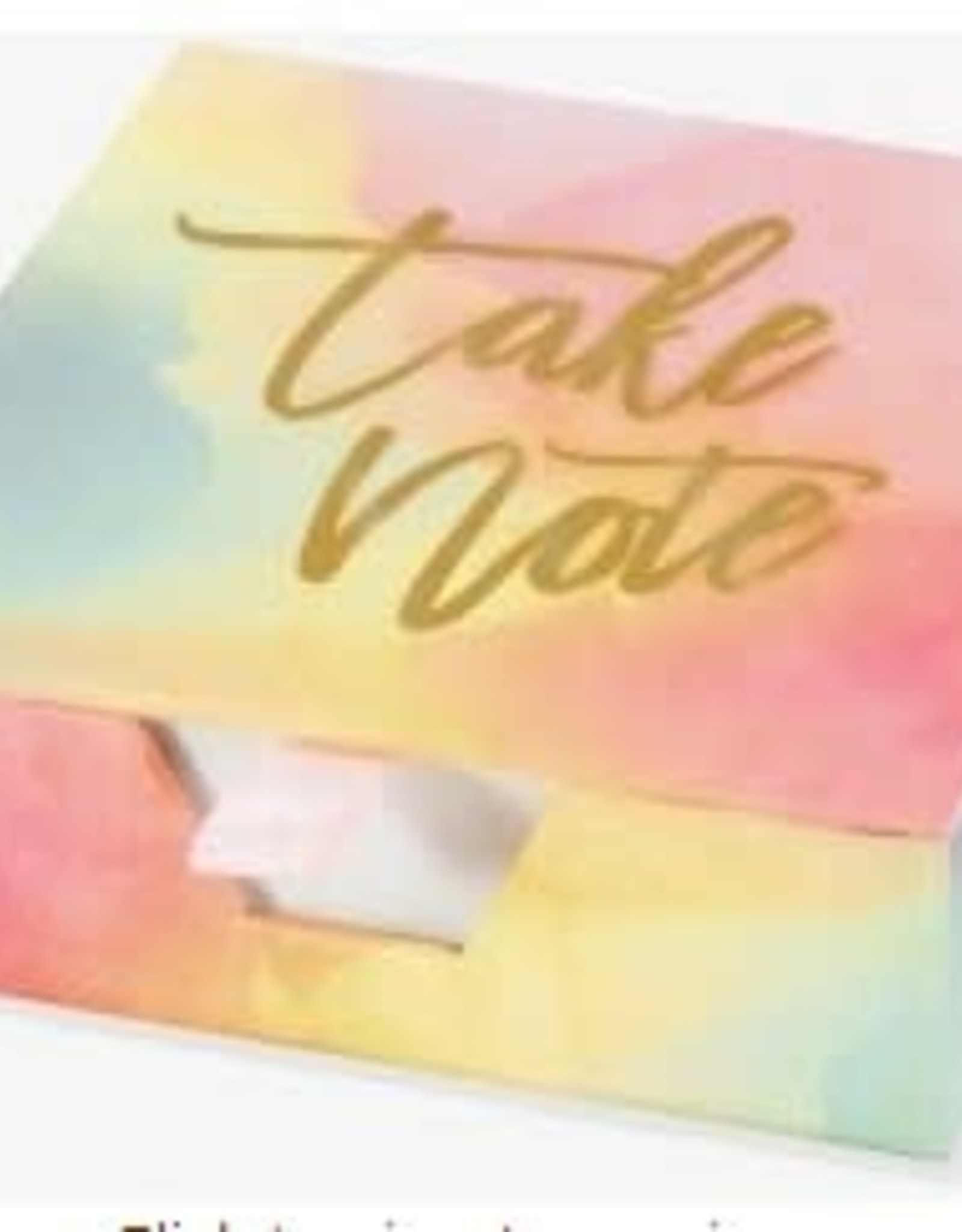 Watercolor Sunset Desk Notes