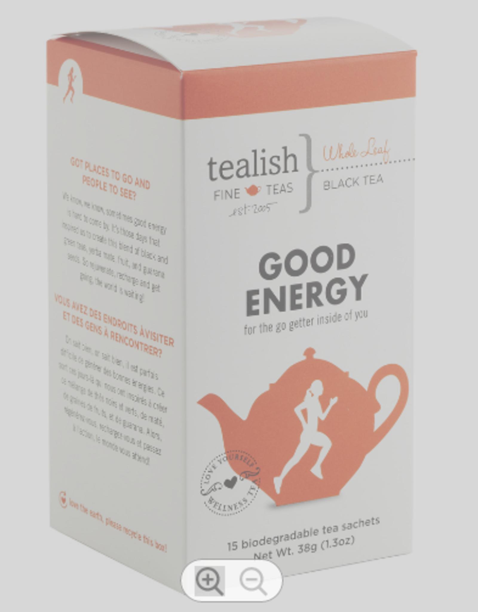 Tealish Good Energy-Teabox
