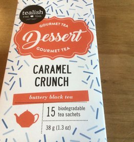 Tealish Caramel Crunch Tea Box